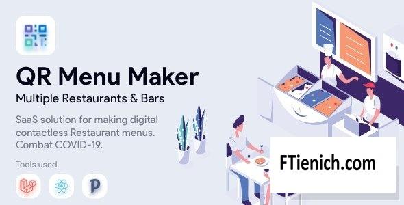 QR Menu Maker v1.5.5 - SaaS - Contactless restaurant menus