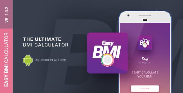Easy BMI Calculator | Android Studio Mobile Application