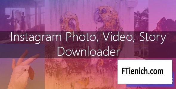 Instagram Image-Video and Story Downloader v3.1.0